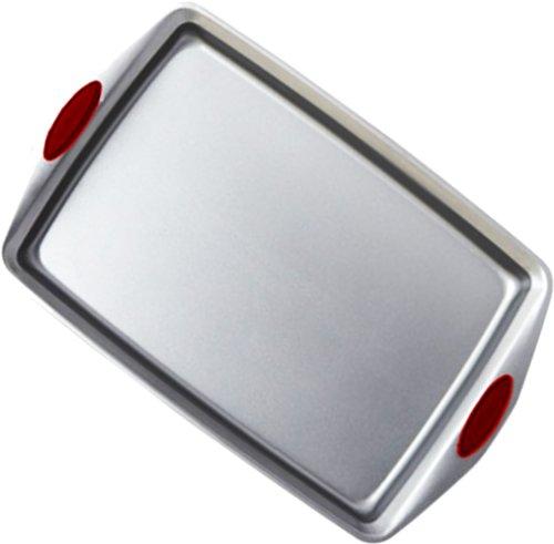 "Aroma Bakeware Non-Stick Cookie Baking Tray (Small 14"" X 10"")"