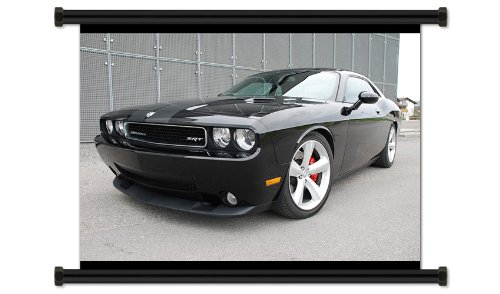Dodge Challenger Fabric Wall Scroll Poster (32