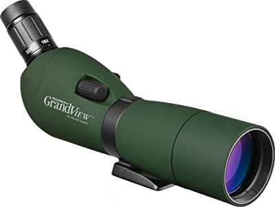 Orion 52205 GrandView 16-48x65mm Waterproof Zoom Spotting Scope (Green) by Optronic Technologies, Inc
