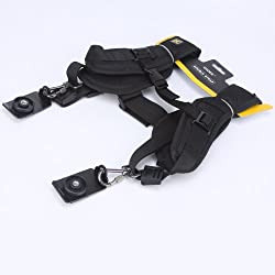 Caden Professional Quick Release Dual-Shoulder Camera Neck Strap For Canon Nikon Olympus Pentax Panasonic Sony