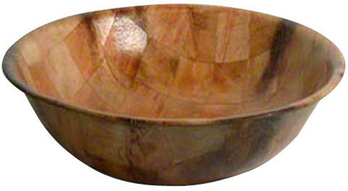 American Metalcraft RWW6 Woven Woodenware Round Shape Bowl, 6-Inch