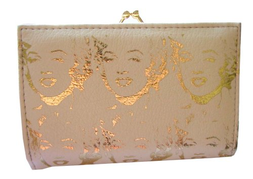 Loop NYC Parcel 2008 * Cream * Gold Foil Marilyn Monroe Multipurpose Wallet With Detchable Coin Purse - Buy Loop NYC Parcel 2008 * Cream * Gold Foil Marilyn Monroe Multipurpose Wallet With Detchable Coin Purse - Purchase Loop NYC Parcel 2008 * Cream * Gold Foil Marilyn Monroe Multipurpose Wallet With Detchable Coin Purse (Loop NYC, Apparel, Departments, Accessories, Wallets, Money & Key Organizers, Billfolds & Wallets, Card Holders)