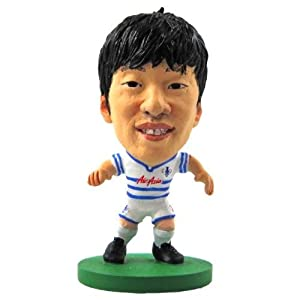 Queens Park Rangers F.C. SoccerStarz Park- ji sung park- soccerstarz figure- 2 inches tall- with collectors card- in blister pack- official licensed product from Limited Stock / Collectables