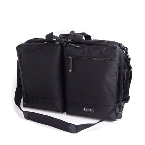 (アイエスプラス) is・+ diversityシリーズ 2ルーム スーツ収納可能 ビジネスバッグ 52cm 230-1060