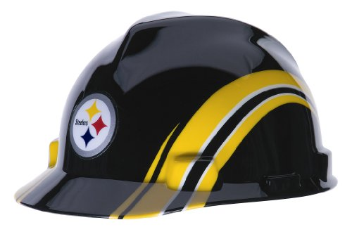 MSA Safety 10098088 NFL Pittsburg Steelers V-Gard Hard Hat at Amazon.com