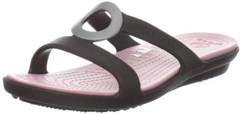b75e1f79af2208 Crocs Women s Sanrah T-Strap Sandal