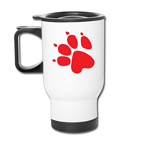 Naughty Dog Logo 14oz Stainless Steel Vacuum Insulated Car Mug White (Hofmann Hot Dogs compare prices)