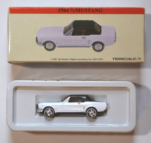 Die Cast White 1964 1/2 Mustang - 1