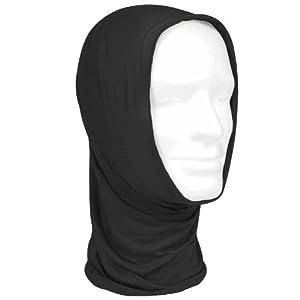 Versatile Tactical Scarf Combat Balaclava Headwrap Cap Face Mask Headband Black by Mil-Tec