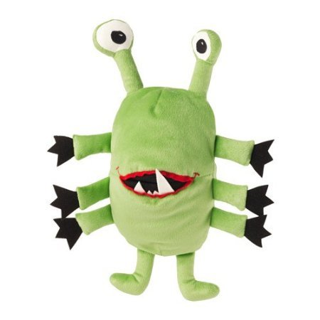 IKEA-Sagoskatt-Green-Hug-Monster-Creature-Plush-Hand-Puppet