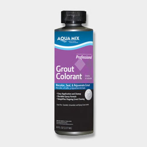 Aqua Mix Grout Colorant - 8 oz Bottle - Charcoal Gray