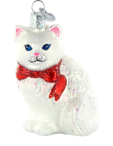 Old World Christmas Ornament Princess Kitty