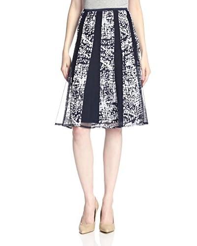 NIC+ZOE Women's Burnout Squares Skirt