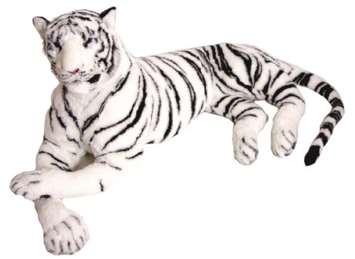 The Real Life Size Tiger WHITE 2 Metres + Brand New - BRUBAKER design