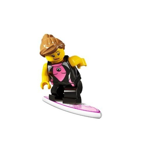 LEGO Series 4 Collectible Minfigure Surfer Girl - 1