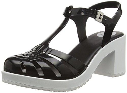 ZaxyDream Heel - Scarpe con Tacco donna , Nero (Black (Black Contrast)), 43