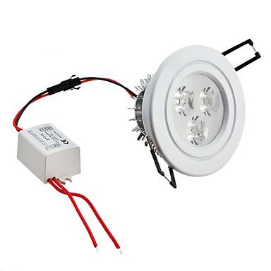 4.5W 5730 Smd 8-Led 400Lm Warm White Ceiling Spot Light Bulb (Sanded, Half Frosted Glass Cover)