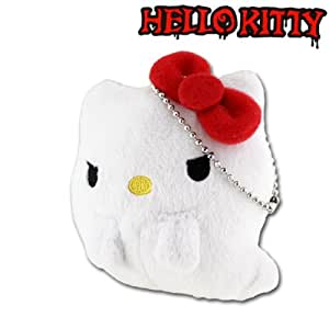 Sanrio Hello Kitty Monster Collection Plush Doll Ball Chain (Mini-Ghost)