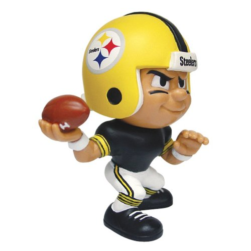 "Pittsburgh Steelers NFL Lil Teammates Vinyl Throwback Quarterback"" Figure (2 3/4"" Tall) (Series 2)"" - 1"