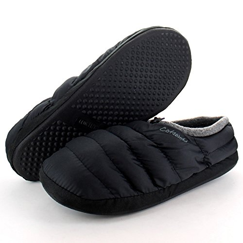 Cotswold-Mens-Warm-Casual-Comfort-Camping-Slippers-Black