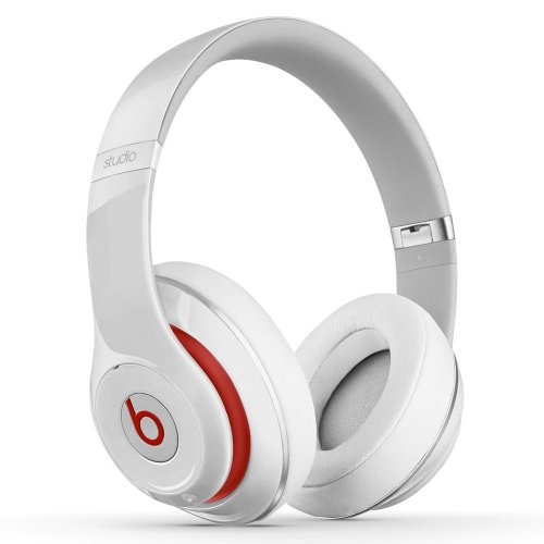 Beats by Dr. Dre STUDIO | Beats Studio 2.0 Over-Ear Headphone (White 900-00063-01)
