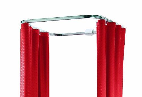 12 anelli per la tenda della doccia in acciaio inox - Asta tenda doccia ...
