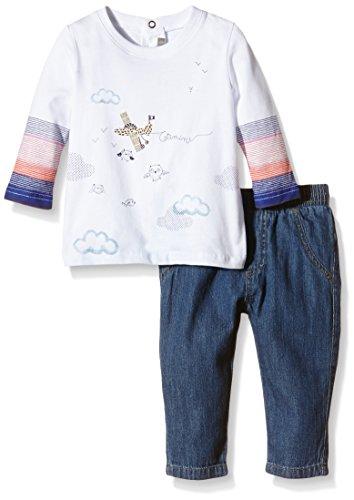 Catimini Baby - Jungen Unterwäsche-Set, mit Print Gr. 18 Monate (Herstellergröße: 18 Monate), Blau - Blau (Indigo)