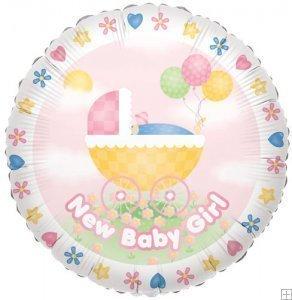 """36"""" Baby Girl Stroller - 1"""