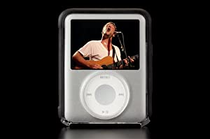 Contour Design Showcase Nano v3 - Crystal Clear Hard Case - Premium Hardshell Protection for Apple iPod Nano v3