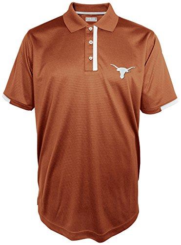 NCAA Texas Longhorns Men's First Down Short Sleeve Polo