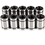 10 x LM8UU 8mm Linear Motion Ball Bearings