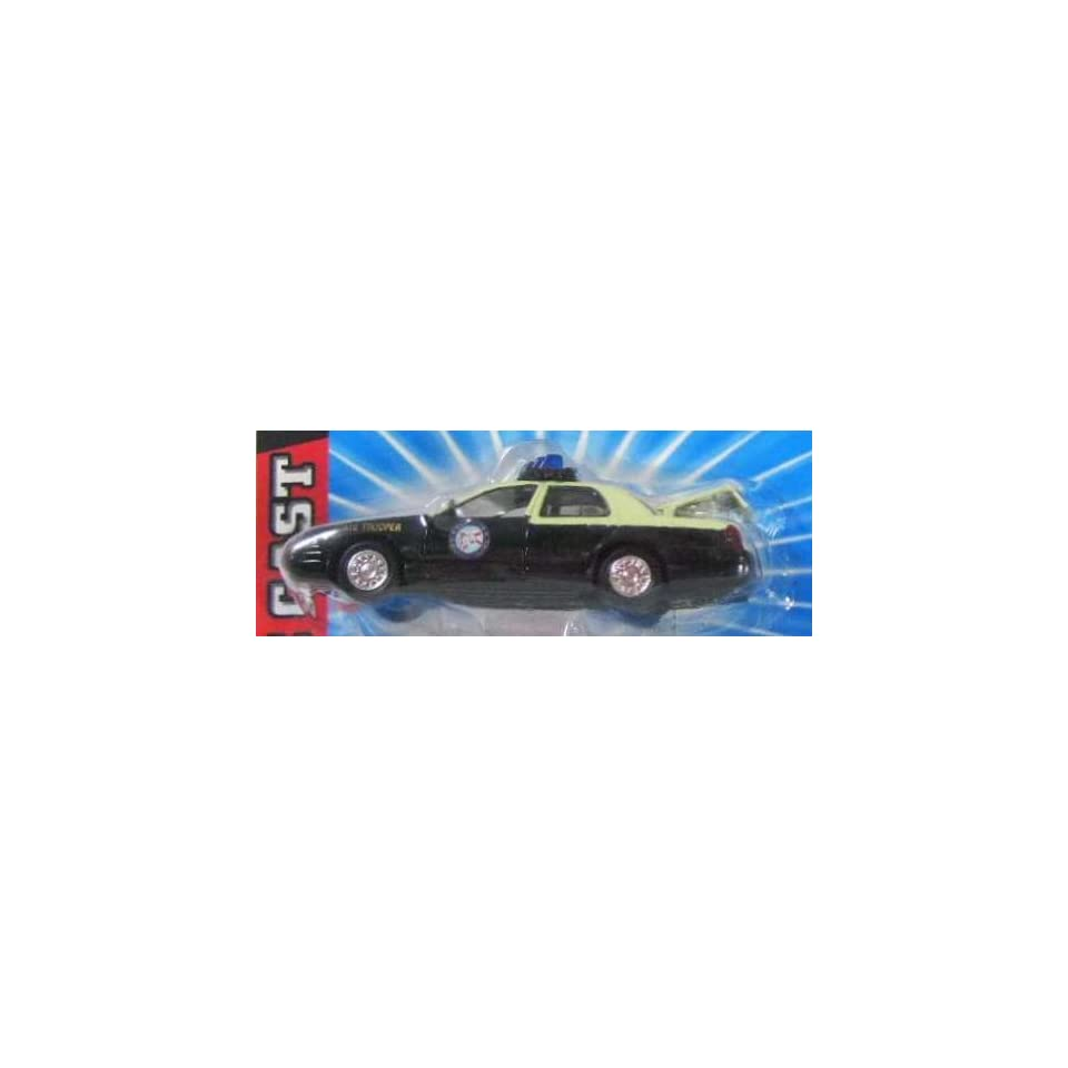 FLORIDA HIGHWAY PATROL Road Champs 1998 Ford Crown Victoria Police Series Die Cast Car 143 Scale