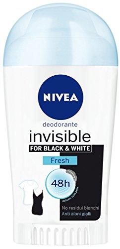 Nivea Deodorant Donna Invisible B&W Fresh Stick 40Ml