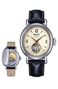 Ingersoll Men's Automatic Watch In7303cr with Leather Strap