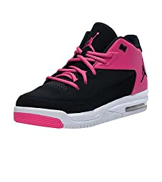 Jordan Flight Origin 3 GG Girl\'s Shoes Black/Black-Vivid Pink-White 820250-017 (4.5)