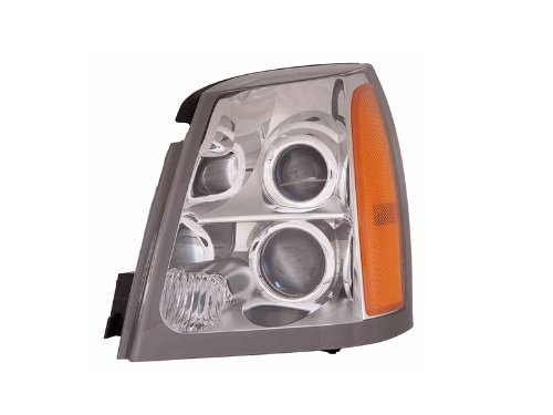 Cadillac Srx 04 05 06 07 08 09 Halogen Head Light Lamp With Bulb Lh 15926967 (2004 Srx Headlight Assembly compare prices)