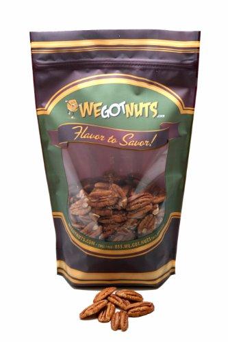 Raw Pecan Halves (10 Pound Case) - We Got Nuts
