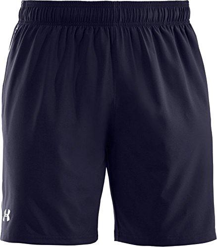 Under Armour- Pantaloni corti Uomo, colore Blu (Blu Navy), taglia produttore L