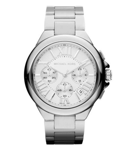 Michael Kors Women's 'Bradshaw' Silver Watch - MK5719