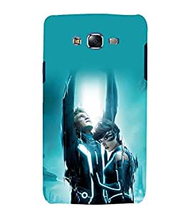 printtech Tron Movie Design Back Case Cover for Samsung Galaxy Quattro i8552 / Samsung Galaxy Quattro Win i8552