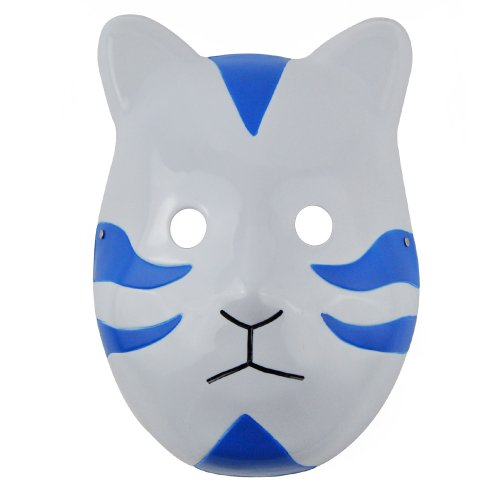 Yiding Blue Cat Style Cosplay Costume Mask for Naruto Ninja Shippuuden Anbu Anime
