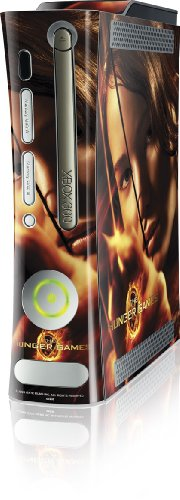 Skinit The Hunger Game -Katniss Bow & Arrow Vinyl Skin for Microsoft Xbox 360 (Includes HDD)