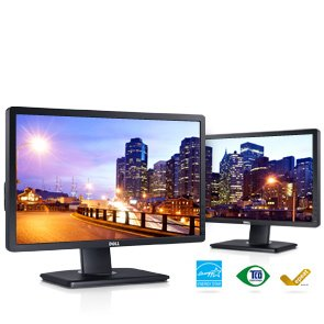 """Dell P2214H Professional Series 21.5"""" Widescreen Led Monitor W/Built-In Usb 2.0 & Height Adjustable, Tilt, & Swivel Stand"""