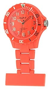 Funky BOA Fob Watch-Superbe Neon Orange