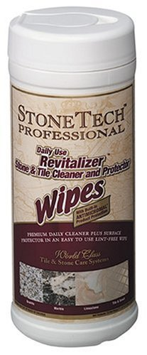 StoneTech Professional Revitalizer Stone &Tile Cleaner and Protector, 35 Wipes - Fresh Citrus Model: RVR6-35W Tools & Home Improvement
