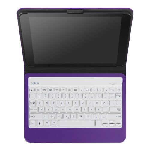 Belkin QODE Slim Style Keyboard and Case for iPad Air (Purple)