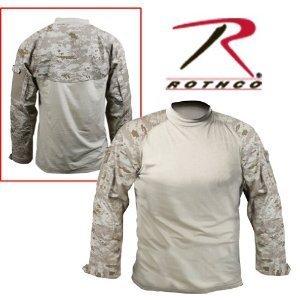 Rothco Combat Shirt In Desert Digital Camo - Medium
