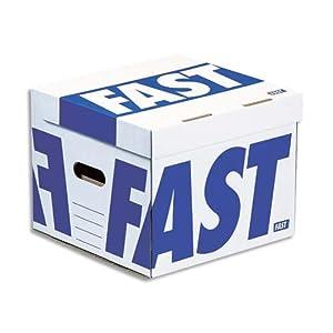 Fast Flash Cube 4912AX4 Conteneurs Bleu Lot de 4