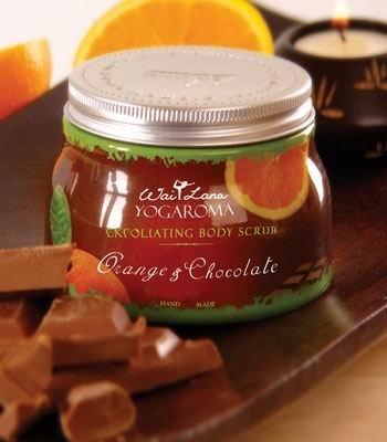Wai Lana Orange & Chocolate Exfoliating Body Scrub