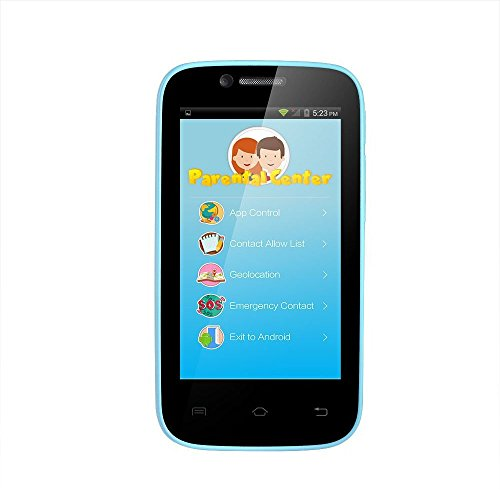 AGPtEK D1 Safety Android Mobile Phone Smart phone for Kids Children|Parental Control Mode| GPS+LBS+WiFi | 4